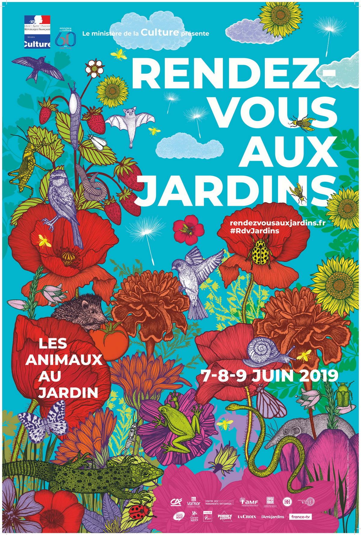 Rendez-vous aux Jardins - Du 7 au 9 juin, partout en France