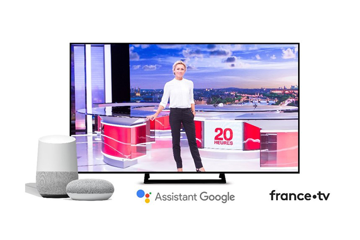 Commandez le journal d'Anne-Sophie Lapix avec l'assistant Google