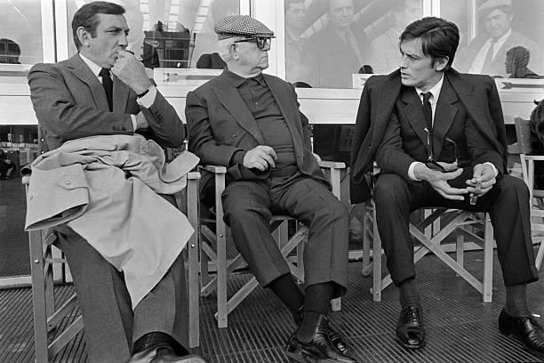 Lino Ventura, Jean Gabin & Alain Delon — Le Clan des Siciliens