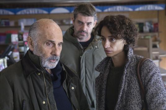 Guy Marchand, Rachida Brakni et Thierry Neuvic dans « Illégitime ».