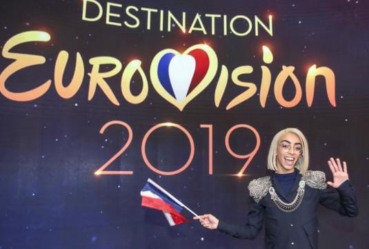 Bilal Hassani, vainqueur de Destination Eurovision 2019 avec la chanson Roi.