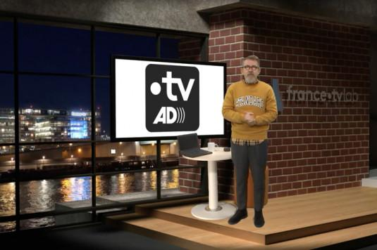 Jamy Gourmaud présente Francetv AD