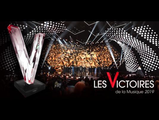 Les Victoires de la Musique, le 8 février 2019, avec Daphné Bürki.