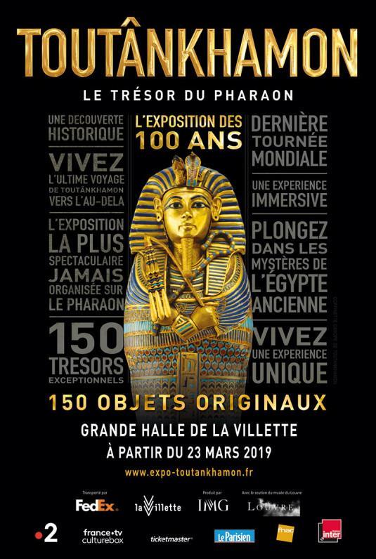 Toutânkhamon, le trésor du pharaon, jusqu'au 15 septembre à la Villette