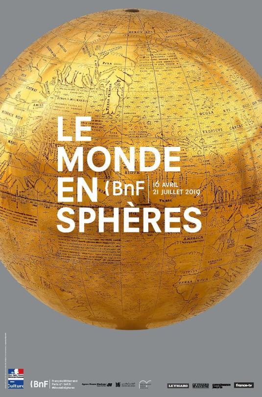 « Le monde en sphères » : exposition à la BnF jusqu'au 21 juillet 2019.