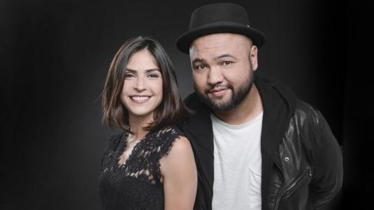 Sonia Chironi et Raphäl Yem