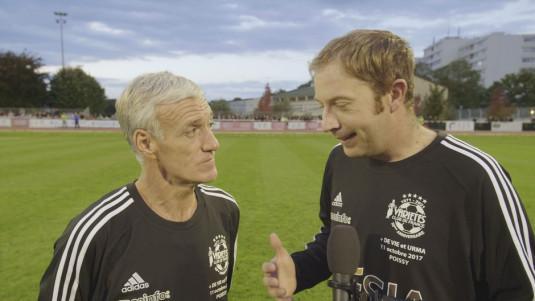 Didier Deschamps et Yoann Lemaire