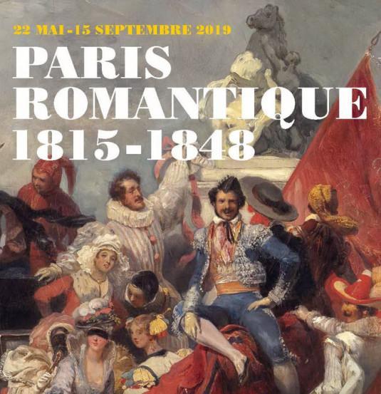 « Paris romantique, 1815-1848 » : exposition en partenariat avec France 3.