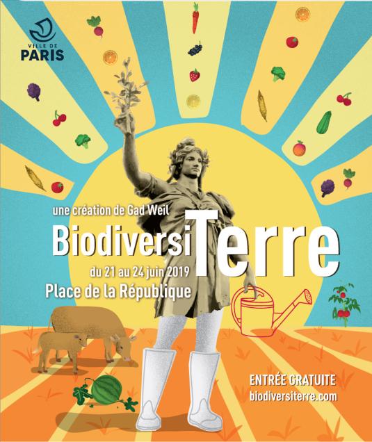 BiodiversiTerre se déroulera Place de la République, à Paris.