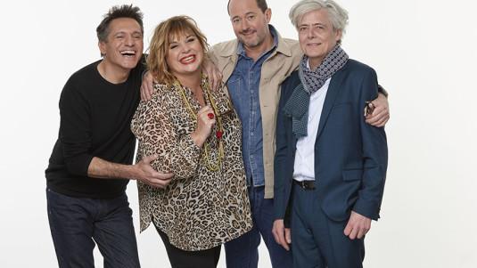 « Un grand cri d'amour » avec Michèle Bernier, Pierre Cassignard,  Jean-François Cayrey et Grégoire Oestermann