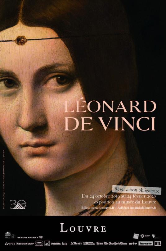 Léonard de Vinci au Louvre, du 24 octobre 2019 au 24 février 2020.