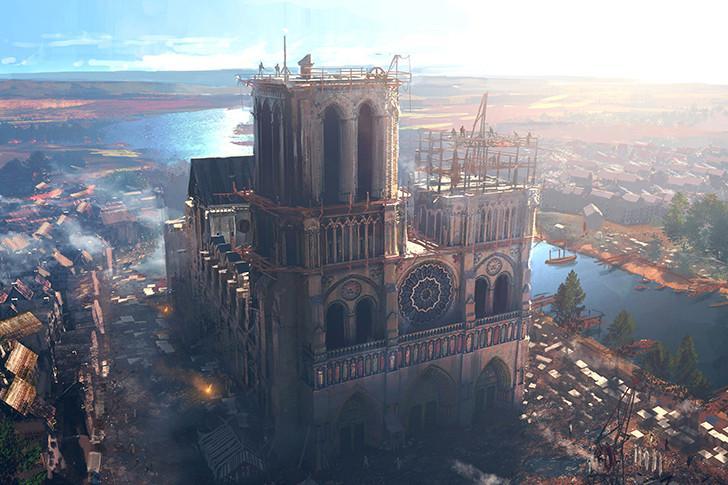 """""""Notre-Dame de Paris : l'épreuve des siècles"""" bientôt sur France 2."""