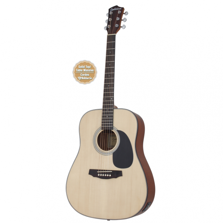 Guitare électro-accoustique EAGLETONE RIVERSIDE EQ NATURELLE