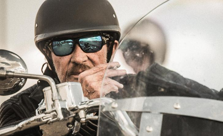 Johnny Hallyday en road-trip aux USA