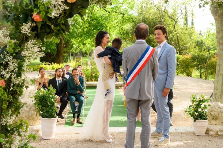 """Mariage de Emma et Baptiste - """"Plus belle la vie"""""""