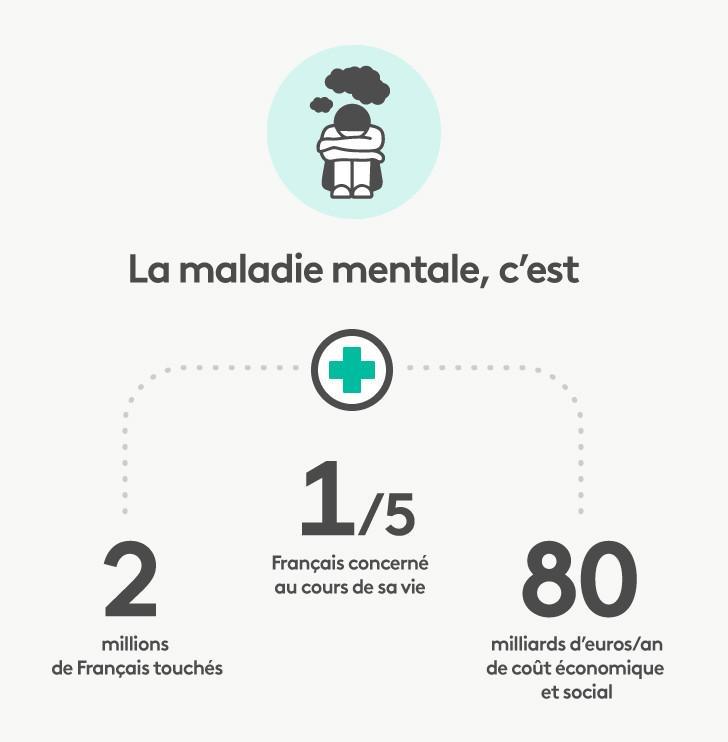 Psychiatrie, le grand naufrage. Chiffres clés de la psychiatrie en France