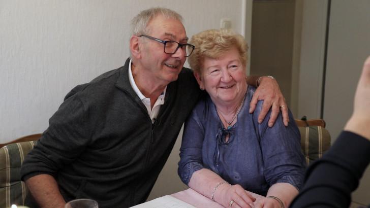 Jean-Pierre retrouve sa demi-soeur en Allemagne