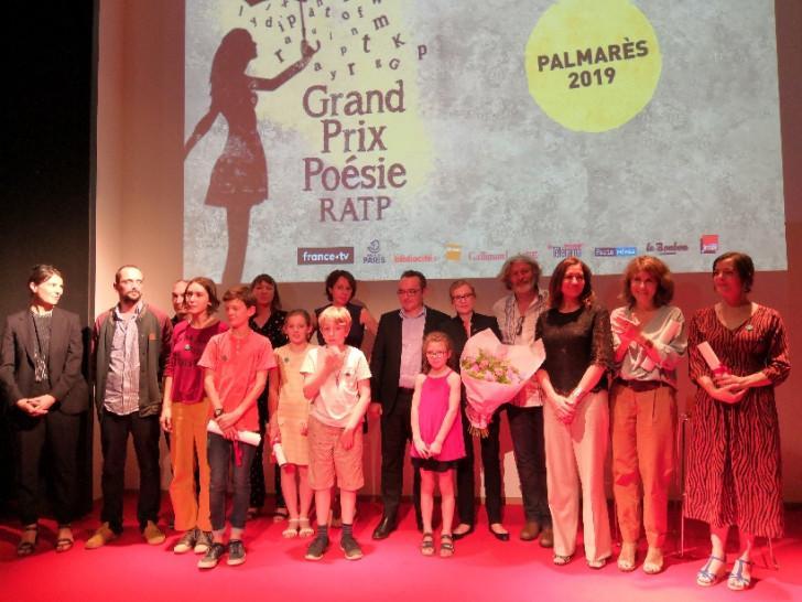La cérémonie de remise des prix, le 17 juin 2019.