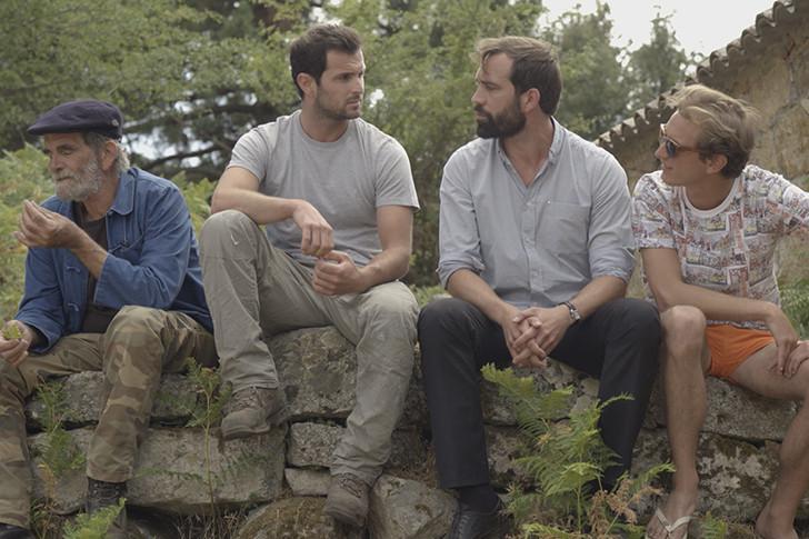 Jeremy Alberti (Petru-Anto),Antoine Albertini (Maxime) et