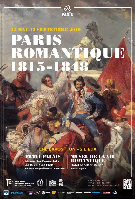 « Paris romantique, 1815-1848 » : exposition au Petit Palais, avec France 3